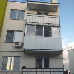 """балкон в ЖК """"Родниковая Долина"""""""