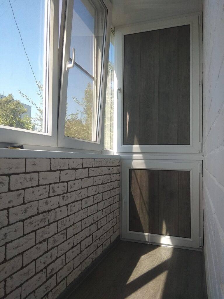 Шкаф на балкон или на лоджию.