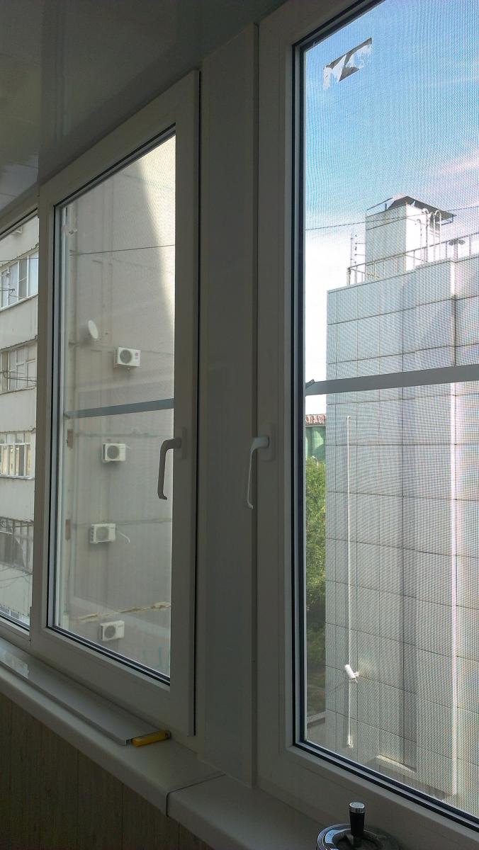 Отделка 6-ти метровой лоджии на ул.рабоче-крестьянской - тёп.