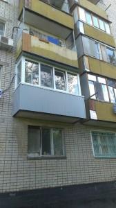 Остекление и отделка балкона - тёплая лоджия.